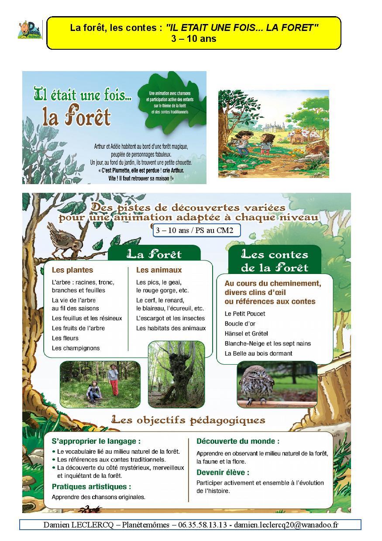 DEPLIANT MAI 2016 . IL ETAIT UNE FOIS LA FORET . SITE INTERNET-page-001
