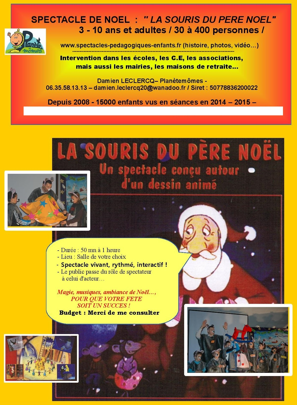 Spectacle pour enfants 49 53 79 no l - Pere noel interactif ...